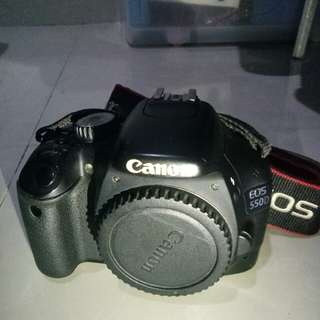 Canon 550D(body only)