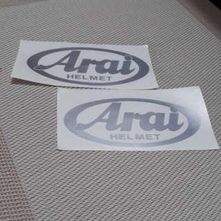 Aftermarket Front ARAI Big Logo for RX7 & TourCross