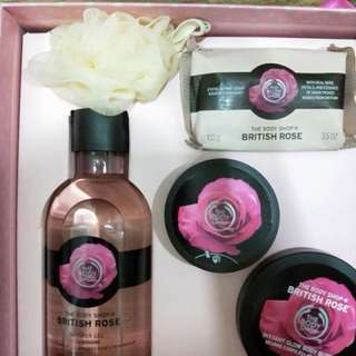 Body Shop British Rose Collection