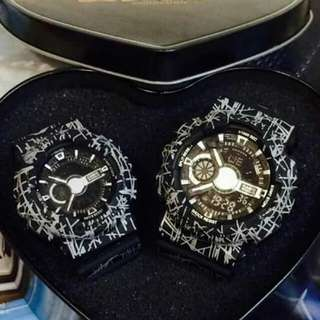 Couple gshock