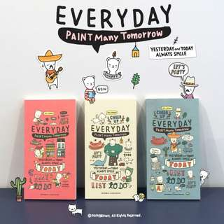Paint Many Tomorrow Everyday Diary