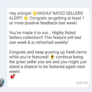 ✨HIGHLY RATED SELLER✨