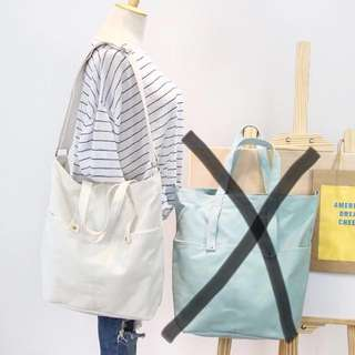 Canvas TOTE bag (brandnew)