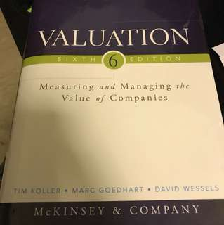 Valuation 6th Edition