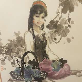 Chinese Water colours
