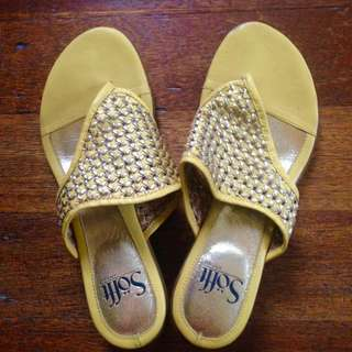 Sofft Yellow Sandal 7