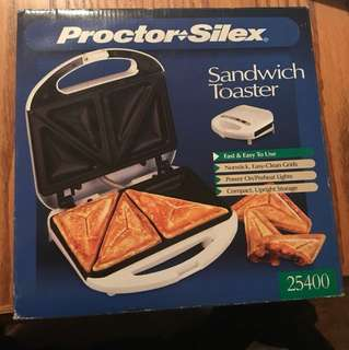 Brand new sandwich toaster