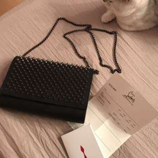 Authentic christina louboutin chain bag