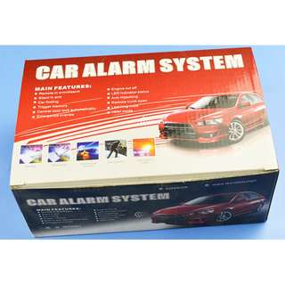 Car Security Alarm System with Wireless Remote control