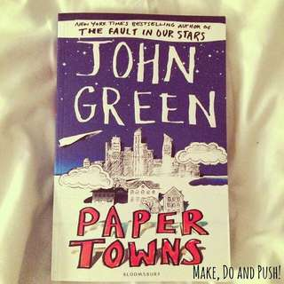 Paper Towns UK Edition by John Green
