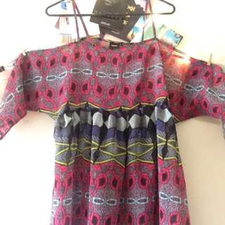 Beach dress asos size 10