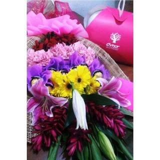 Flower Bouquet - Ferrero Bouquet - Valentines Gift