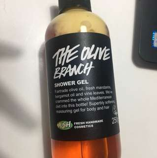 Lush olive branch shower gel 250g