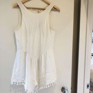 Glassons playsuit - White