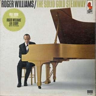Roger Williams Vinyl LP, used, 12-inch original pressing
