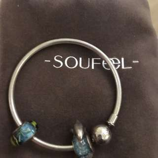 Soufeel bangle with charms