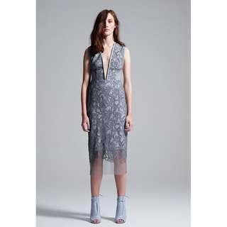 Manning Cartell Royal Paisley Sheath Dress