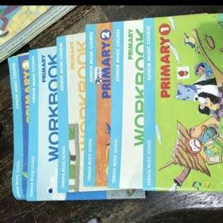 Yamaha JMC textbook and workbook
