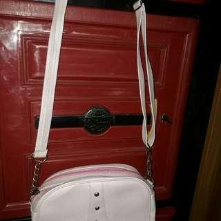 sling bag baby pink