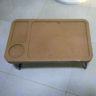 Bed Tray Table with Folding Legs