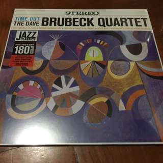 The Dave Brubeck quartet - time out vinyl LP