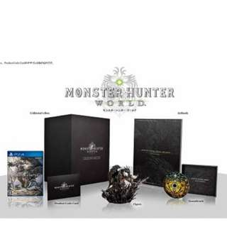 Monster Hunter World Collector's Edition PS4