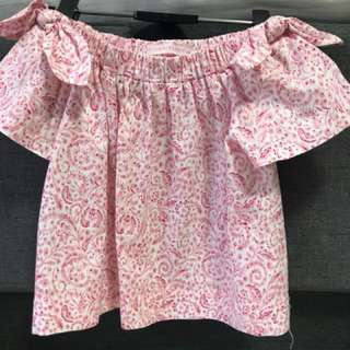Gingersnaps - Off Shoulder Floral Top - for 5-6 years old