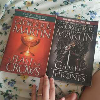 George Martin Books Game of thrones