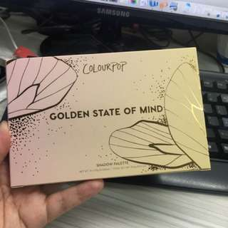 Repriced! Colourpop Golden State of Mind Shadow Palette