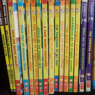Pre-love Geronimo Stilton children books