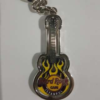 Hard Rock Istanbul Keychain