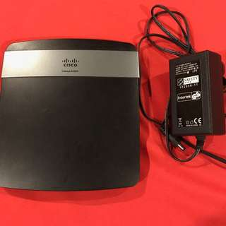 Cisco Linksys E2500 Advanced Dual-Band Wireless-N Router
