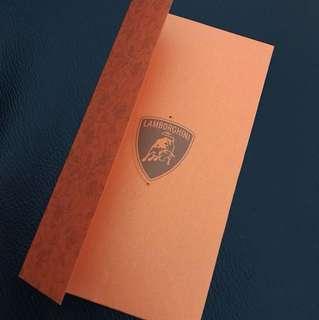 Lamborghini Red Packet Hong Bao Ang bao