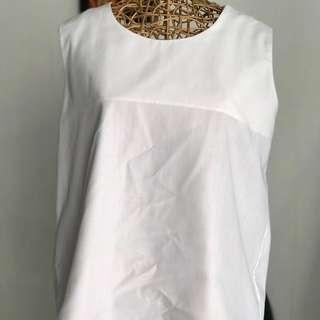 Cotton White Tops