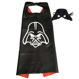 Darth Vader Costume and Cape for Children