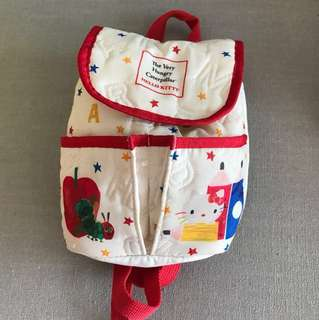 The very hungry caterpillar x hello kitty backpack