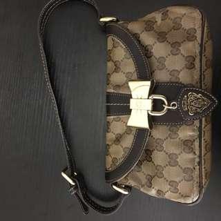Gucci monogram small shoulder bag