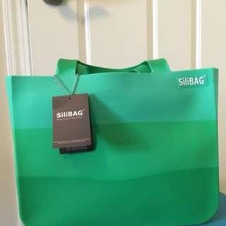 Silibag 全新 100% NEW 綠色袋