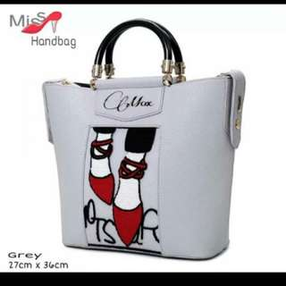 handbag prints miss sepatu