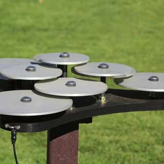 Outdoor Musical Instruments - The Lilypad Cymbals & The Manta Ray