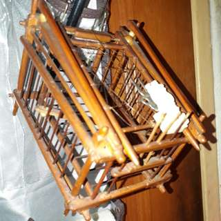 Authentic indo handmade mini bird trap $18