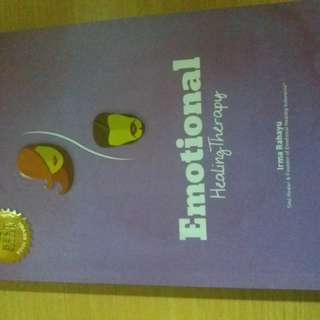 Buku psikologi novel psikologi Emotional healing therapy