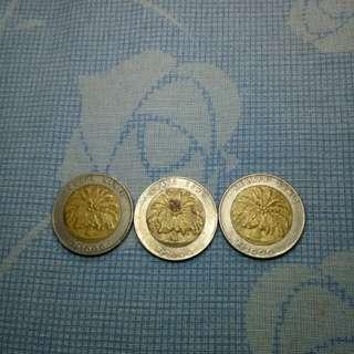 Uang koin edisi kelapa sawit
