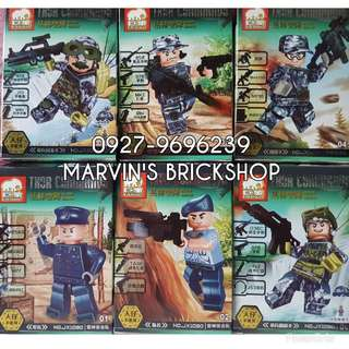 For Sale Thor Commando Military Soldier 6in1 Minifigures
