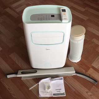 Midea Portable Aircond 1.0HP With Inverter, Remote & Filter (Perfect Condition)