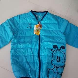 BNWT Kids winter Jacket-Baby blue