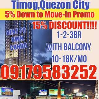 Cheapest Rent to own condo in timog