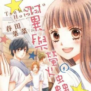 Tsubasa to hotaru 翼與螢火蟲 manga vol 1 to 7