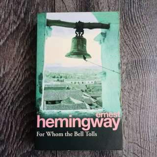 For whom the bell tolls, Hemmingway