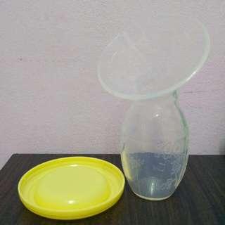 (NEW) Silicone breast milk collector